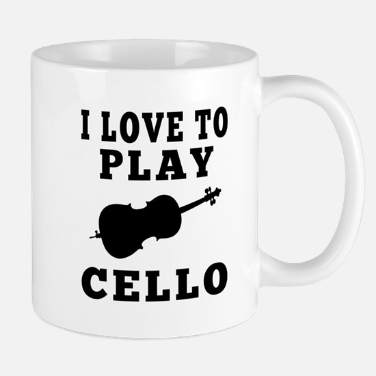 I Love Cello Mug