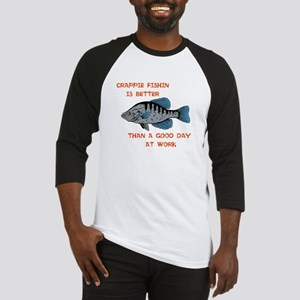 Crappie fishing Baseball Jersey