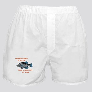 Crappie fishing Boxer Shorts