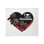 Box of Chocolates Throw Blanket