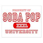 Soda Pop University Small Poster