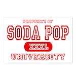 Soda Pop University Postcards (Package of 8)