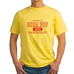 Soda Pop University Yellow T-Shirt