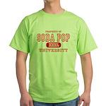 Soda Pop University Green T-Shirt