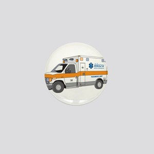 Ambulance Mini Button