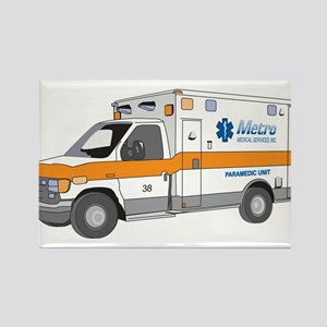 Ambulance Rectangle Magnet