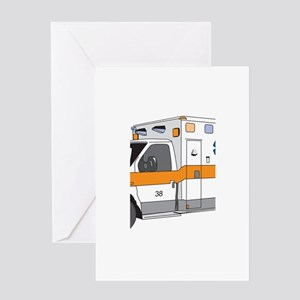 Ambulance Greeting Card