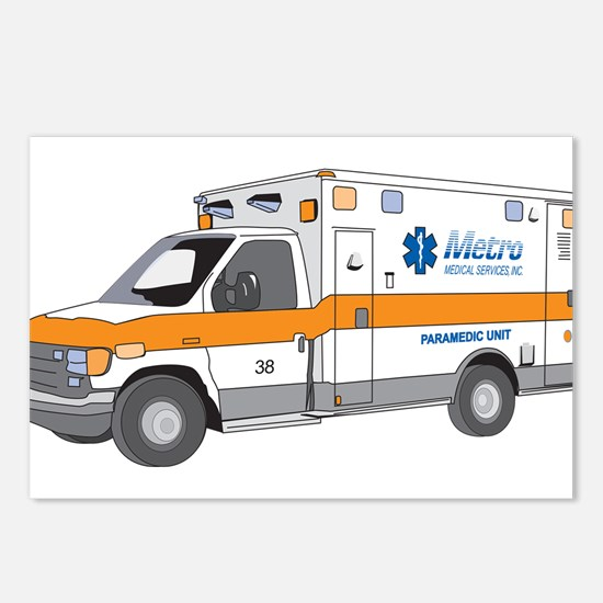 Ambulance Postcards (Package of 8)
