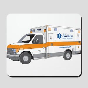 Ambulance Mousepad