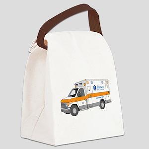Ambulance Canvas Lunch Bag