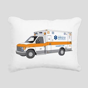 Ambulance Rectangular Canvas Pillow
