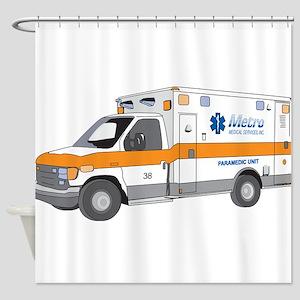 Ambulance Shower Curtain