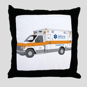 Ambulance Throw Pillow