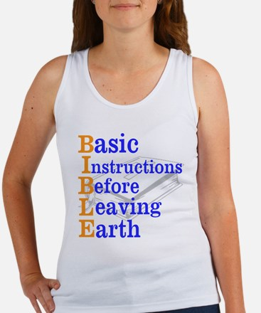 BIBLE Women's Tank Top