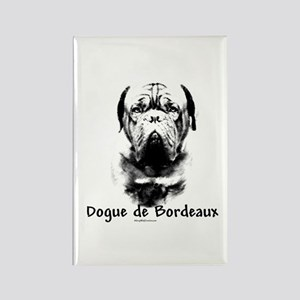 Dogue Charcoal Rectangle Magnet
