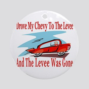 Levee Was Gone Ornament (Round)