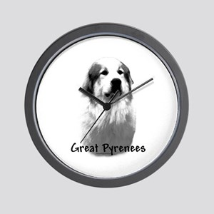 Great Pyr Charcoal Wall Clock