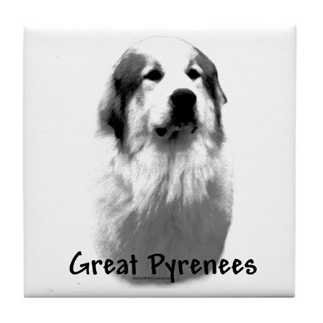 Great Pyr Charcoal Tile Coaster