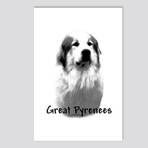 Great Pyr Charcoal Postcards (Package of 8)