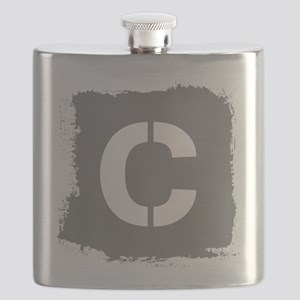 Initial Letter C. Flask