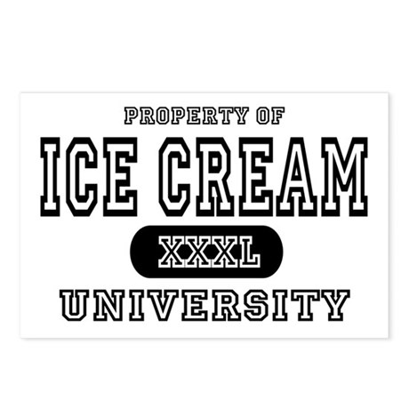 Ice Cream University Postcards (Package of 8)