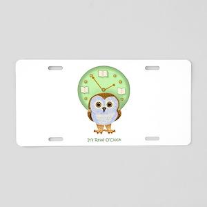 Read OClock Aluminum License Plate