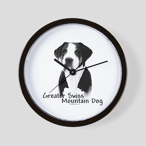 Swissy Charcoal Wall Clock