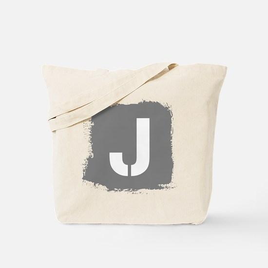Initial Letter J. Tote Bag