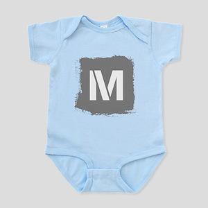 Initial Letter M. Body Suit