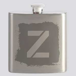 Initial Letter Z. Flask