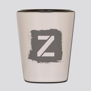 Initial Letter Z. Shot Glass