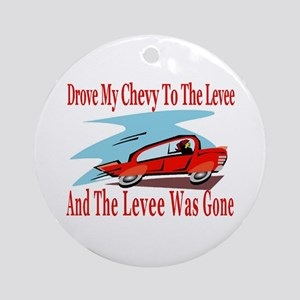 Levee Gone Ornament (Round)
