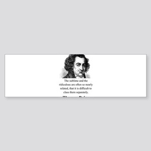 The Sublime And The Ridiculous - Thomas Paine Stic