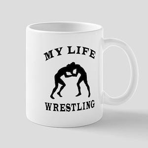 My Life Wrestling Mug