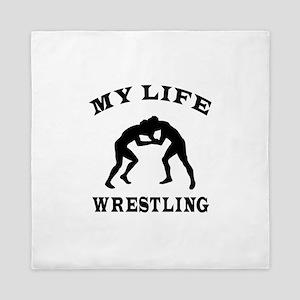 My Life Wrestling Queen Duvet