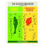 Success Indicator Small Poster