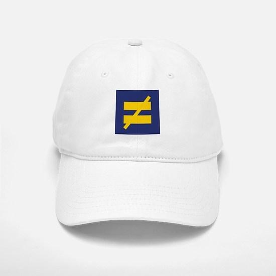 Not Equal - Different by Design Baseball Baseball Baseball Cap