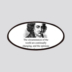 The Circumstances Of The World - Thomas Paine Patc