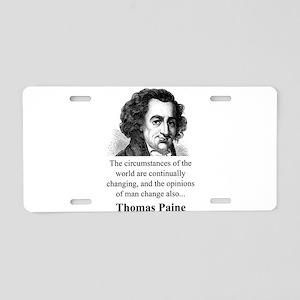 The Circumstances Of The World - Thomas Paine Alum