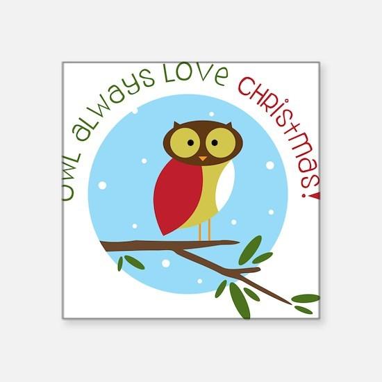 Love Christmas Sticker