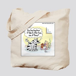 How long does it take to litter train a baby? Tote