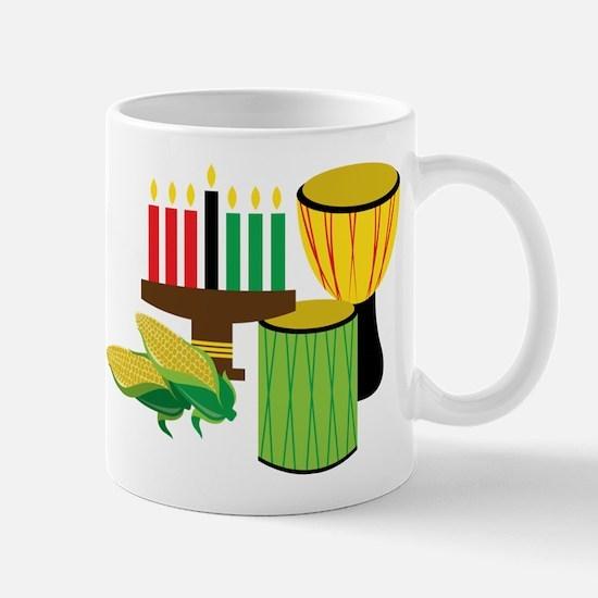Kwanzaa Drums Mug