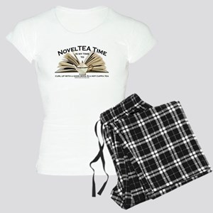 Classic NovelTEA Time Women's Light Pajamas
