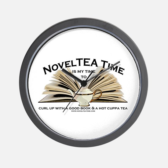 Classic NovelTEA Time Wall Clock