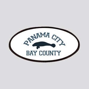 Panama City - Manatee Designs. Patches