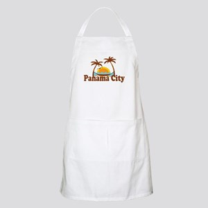 Panama City - Palm Tree Designs. Apron