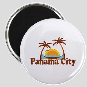 Panama City - Palm Tree Designs. Magnet