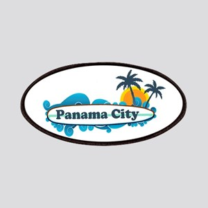Panama City - Surf Designs. Patches