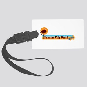 Panama City - Beach Designs. Large Luggage Tag