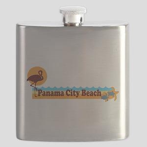 Panama City - Beach Designs. Flask